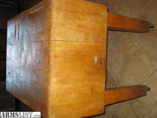 nice old boos butcher block for sale very heavy
