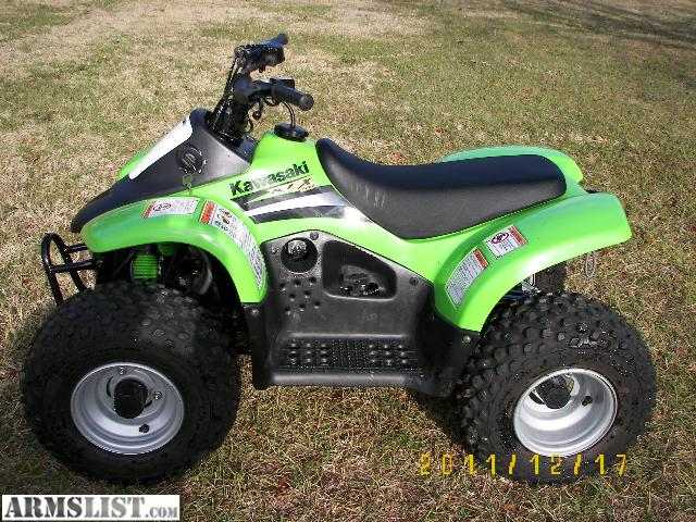 armslist for sale trade kawasaki kfx 50 atv four wheeler. Black Bedroom Furniture Sets. Home Design Ideas