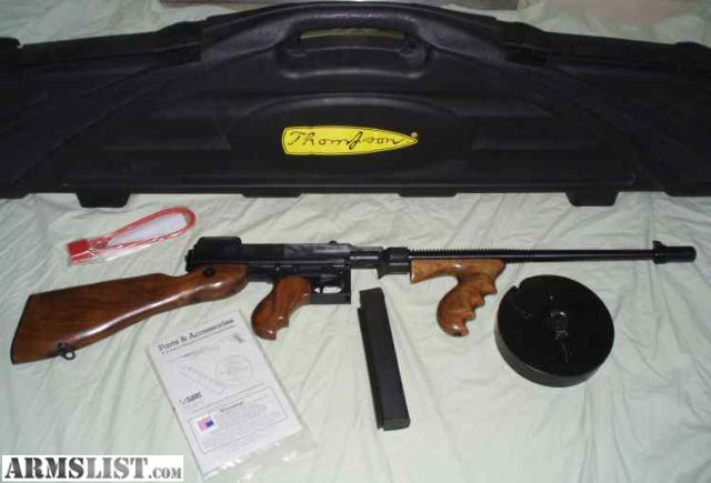 For Sale Thompson Semi Machinegun – Fondos de Pantalla