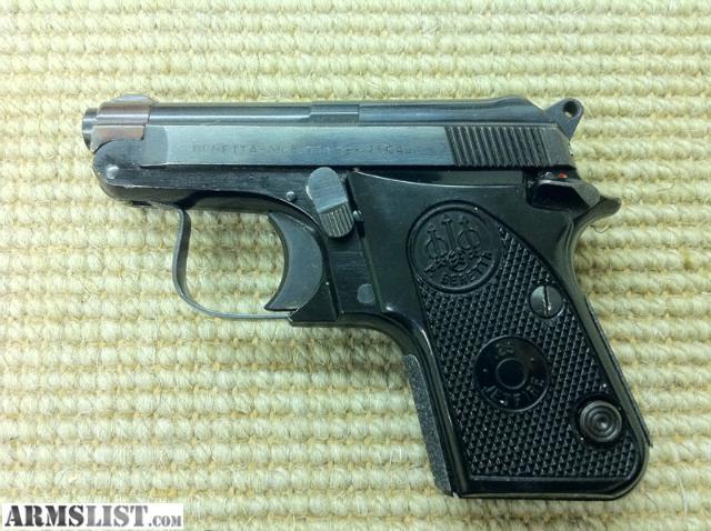 Armslist For Sale Beretta 950bs Jetfire 25acp Pocket Pistol