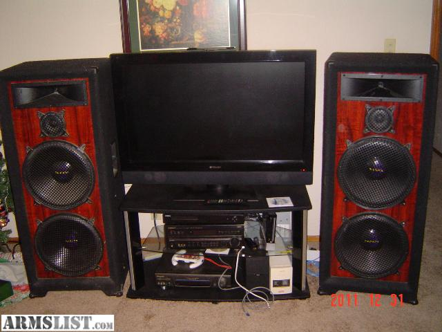 ARMSLIST - For Sale/Trade: pro studio home audio system ...