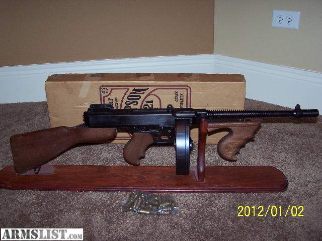 Armslist for sale rare model gun company 1921 thompson - Replica mobel legal ...