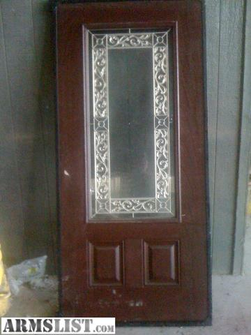 Armslist for sale trade 2 special order exterior doors for Special order doors