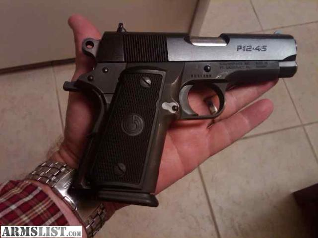 ARMSLIST - For Sale: Para Ordnance P 12-45 1911 Concealed Carry 45!