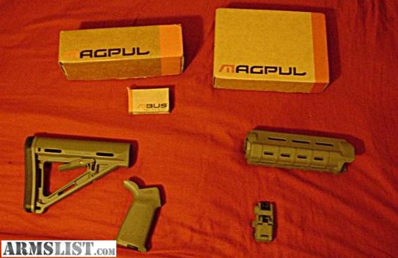 Armslist For Sale Trade Ar15 Magpul Furniture Set