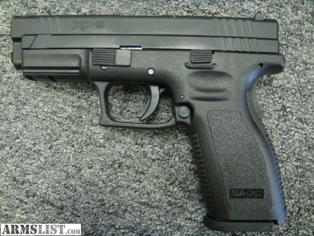 ARMSLIST - For Sale: New Springfield XD-9 Semi Auto Pistol 9mm ...
