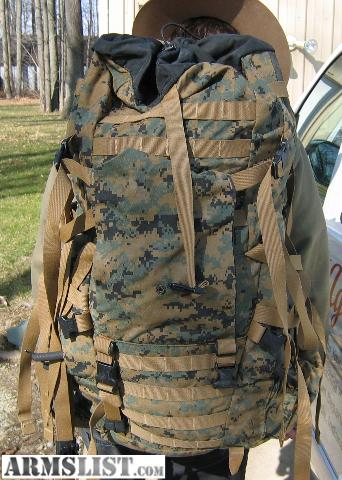 ARMSLIST - For Sale: Military Surplus Backpack Woodland Digital ...