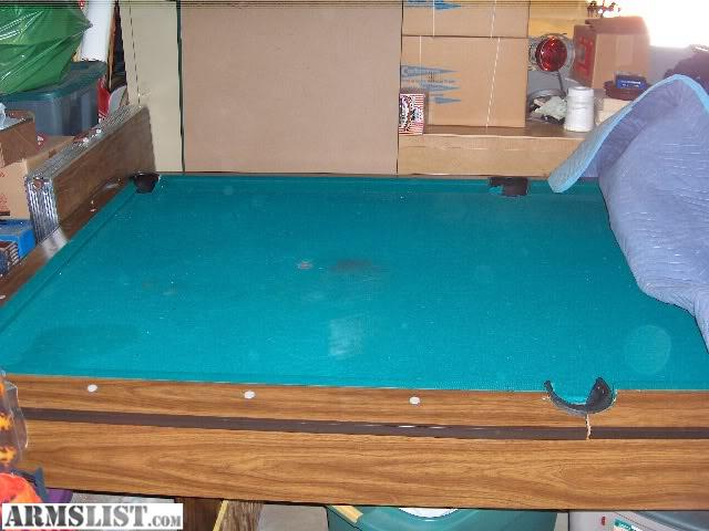 Armslist for trade drop pocket pool table for Pool trading