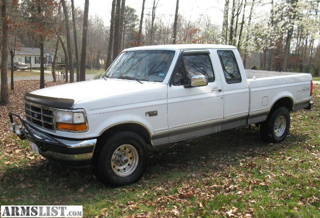 armslist for sale trade 1995 ford f 150 xlt 4x4 off road pkg 5 8l. Black Bedroom Furniture Sets. Home Design Ideas