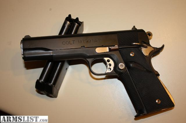 Colt Gold Cup National Match 1911, .45ACP
