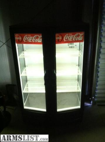 Armslist For Sale Trade Coca Cola Soda Cooler Commercial