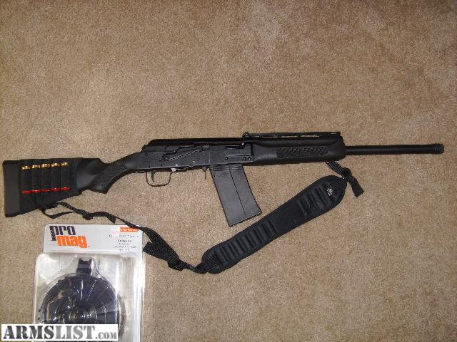 ARMSLIST - For Sale: Saiga 12 with 20rd drum