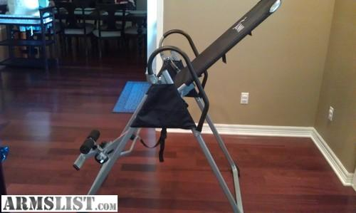 Very Good Condition Inversion Table By Sunny. Just Do Not Use... $75.00  Cash/Trade Value. I Can Add Cash As Need Toward Guns And/or Ammo If You  Have ...