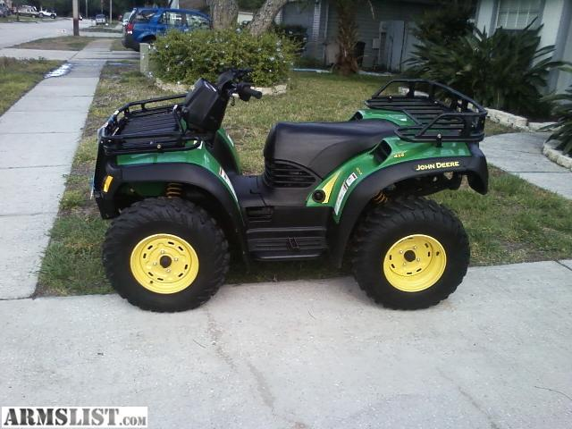 armslist for sale john deere atv 500 buck. Black Bedroom Furniture Sets. Home Design Ideas