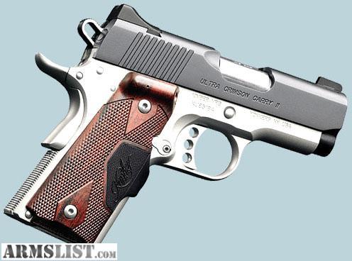 Armslist For Sale Trade Kimber 45 Ultra Crimson Carry