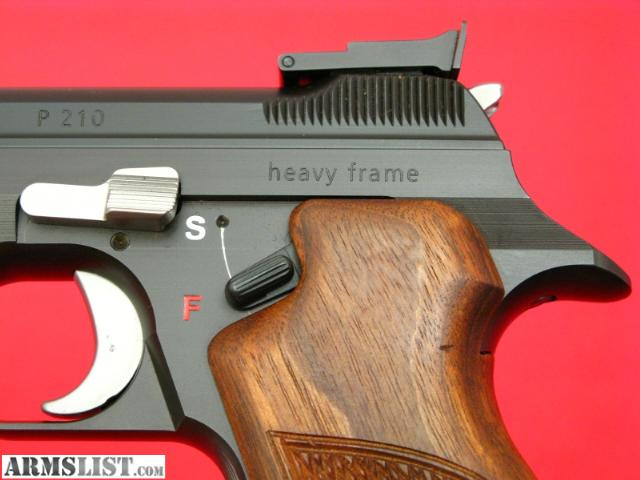 ARMSLIST - For Sale: SIG ARMS ~ P210-6 9mm -- SWISS MADE, Heavy ...