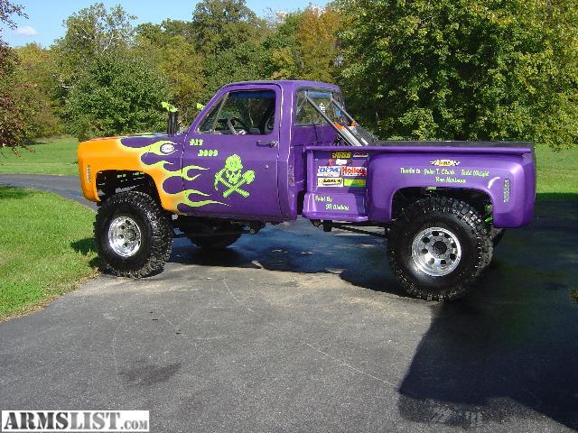 armslist for sale trade chevy pro built mud race bog truck sold. Black Bedroom Furniture Sets. Home Design Ideas