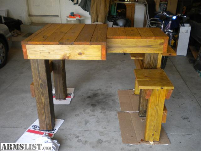 Armslist For Sale New Shooting Bench