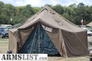 Newer GP Small tent in great condition. Vinyl coated canvas lighter weight. All wooden poles and tent stakes included. Set up instruction booklet included & ARMSLIST - For Sale: Newer GP Small Tent