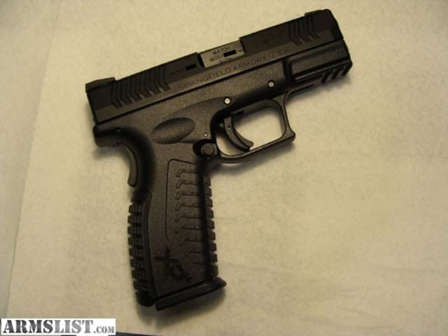 ARMSLIST - For Sale: Springfield XDM 9mm with full size grip , 3.8 ...