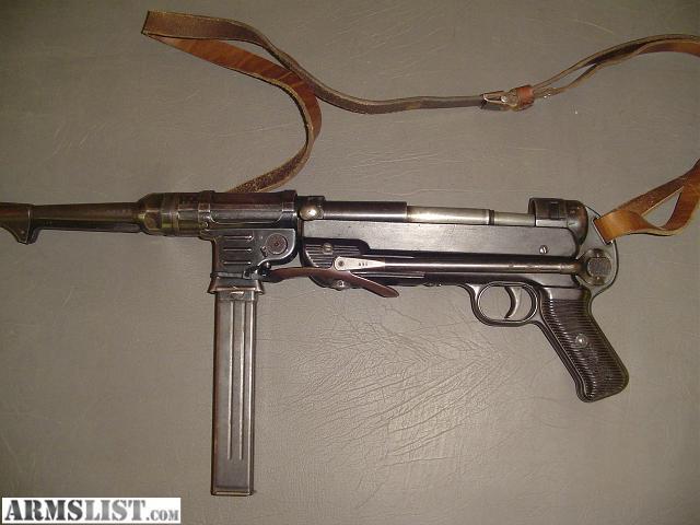 WW2 GERMAN MP40 PARTS KIT