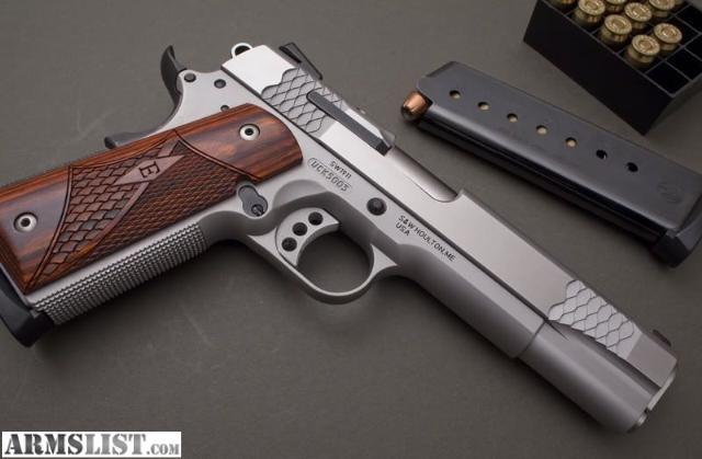 For Sale: Smith and Wesson E Series 1911