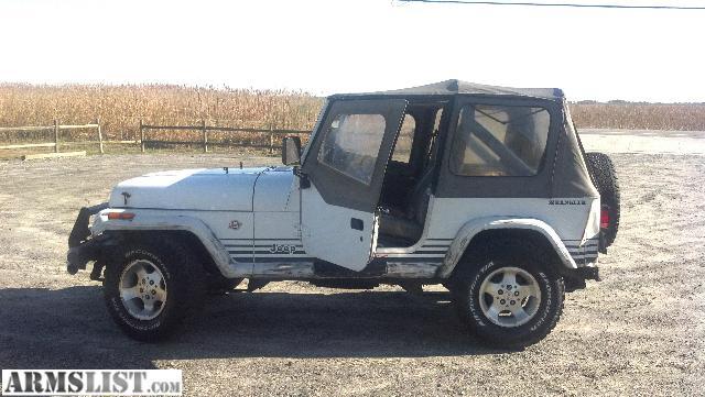 armslist for sale trade 1989 jeep wrangler. Black Bedroom Furniture Sets. Home Design Ideas