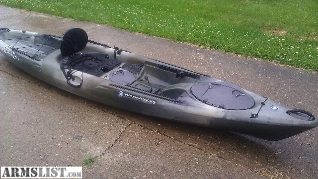 Armslist for sale trade wilderness systems tarpon 120 for Wilderness systems fishing kayaks