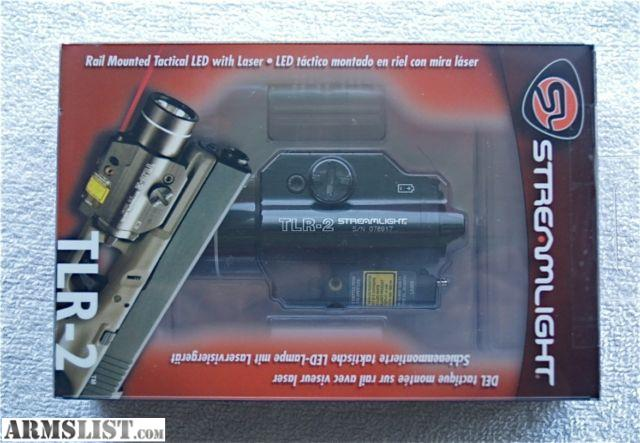 armslist for sale streamlight tlr 2 laser light combo. Black Bedroom Furniture Sets. Home Design Ideas