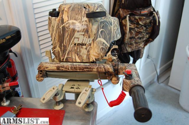 Armslist for sale trade briggs stratton 5 hp outboard for Briggs and stratton outboard motors for sale