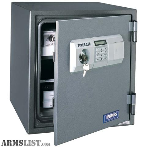 Armslist for sale brinks 5084d fire rated safe for Brinks home security