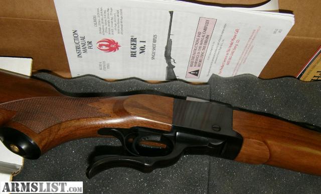 Armslist For Sale Ruger No 1 K1 Rsi Int L 257 Ss 21318 Nib - Www