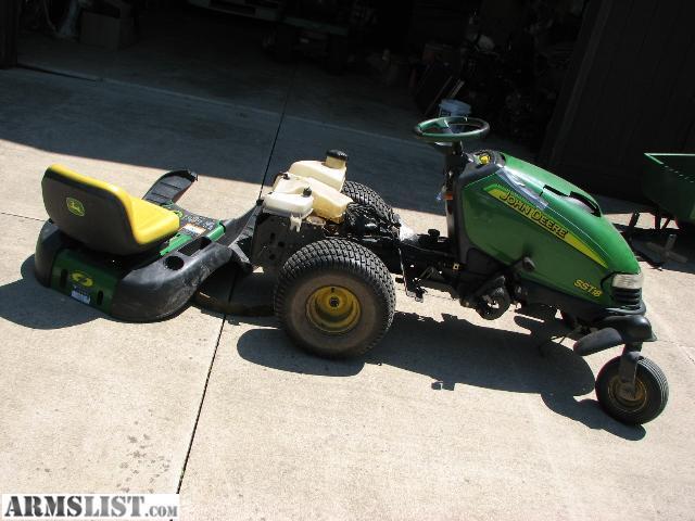 Armslist For Sale John Deere Sst18 Lawn Tractor