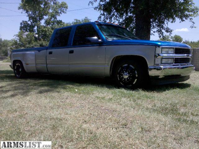 armslist for sale trade 2000 chevy slammed 1 ton dually. Black Bedroom Furniture Sets. Home Design Ideas