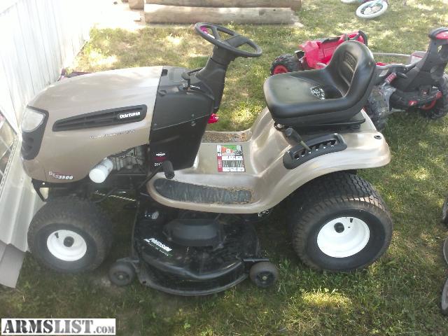 Craftsman 3500 Riding Mower : Armslist for trade sale craftsman dls