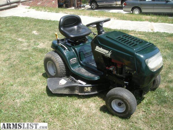 Bolens Bagger Parts : Armslist for sale bolens lawn tractor