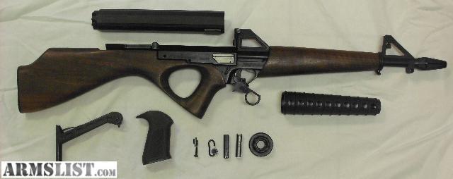 American Industries, Calico M-100 .22 LR Semi Auto Rifle, 2x 100 ...