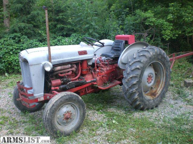 1956 Ford 640 Tractor Fenders : Armslist for sale trade ford tractor with implements