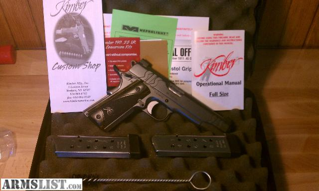 Gun will come with two kimpro magazines factory box and all original