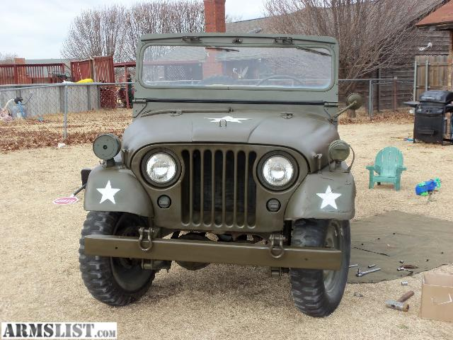 ARMSLIST - For Sale: 1954 M38A1 Willys Army jeep