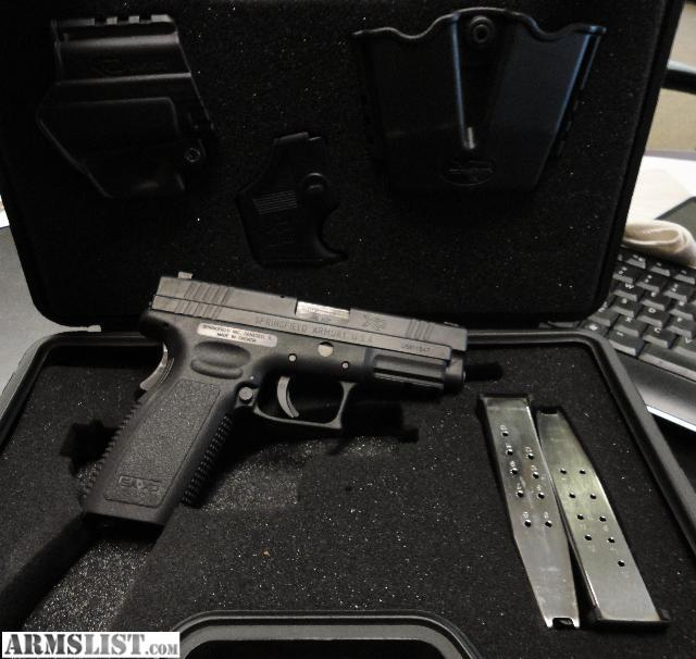 Highlands Ranch Shooting Range: For Sale: Springfield XD .45 W Trijicon Night