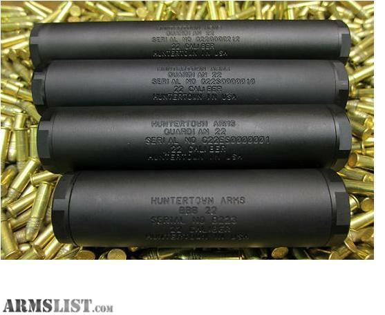 ARMSLIST - For Sale: Huntertown Arms Suppressors, NFA ...