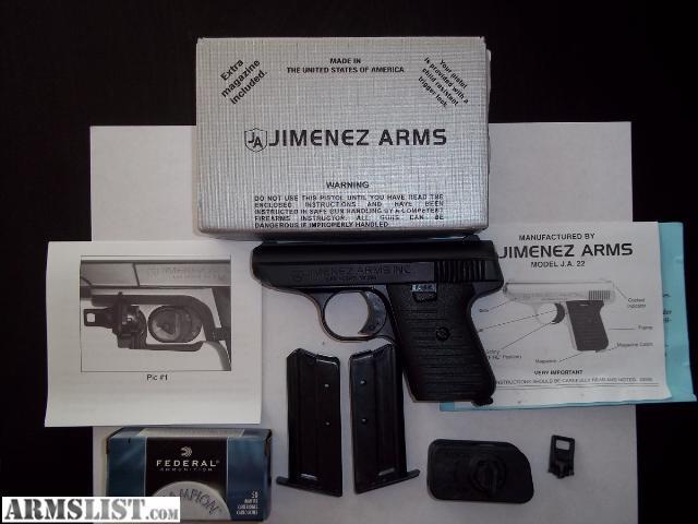 Jimenez arms ja 22 manual