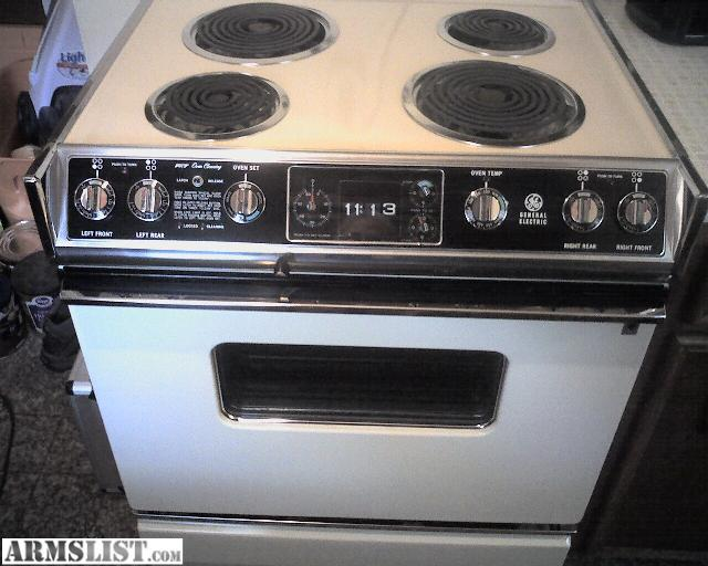 Vintage Ge Electric Stoves For Sale ~ Armslist for sale trade like new vintage self cleaning