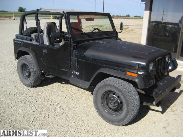 ARMSLIST - For Sale/Trade: 92 jeep wrangler yj
