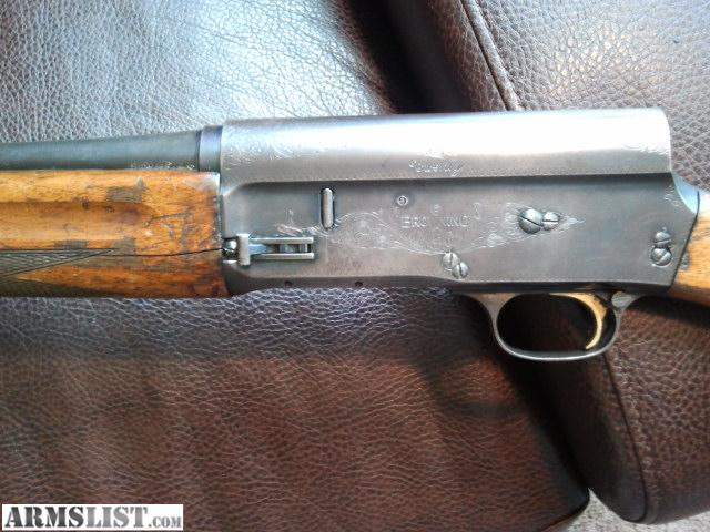 For Sale: Belgium Browning Auto 5 20 Gauge