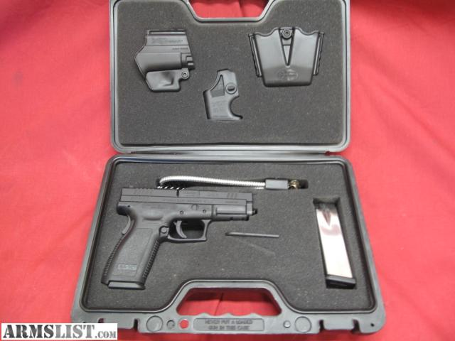 ARMSLIST - For Sale: Like New Springfield XD-V10 ported barrel 9mm ...