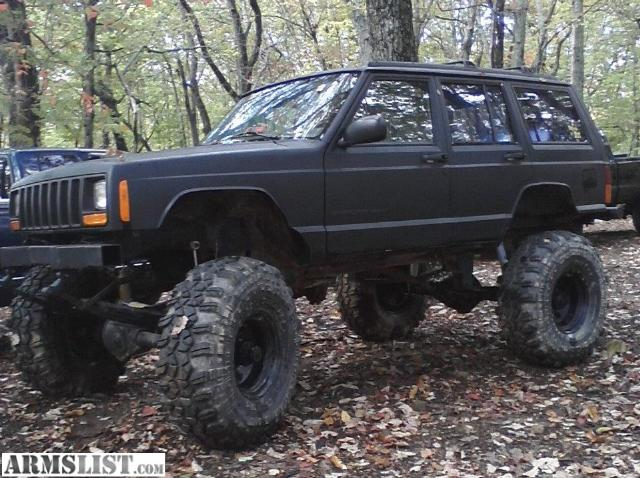 armslist for sale trade lifted jeep cherokee. Black Bedroom Furniture Sets. Home Design Ideas