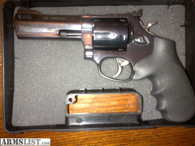armslist for sale 44 magnum taurus tracker revolver. Black Bedroom Furniture Sets. Home Design Ideas