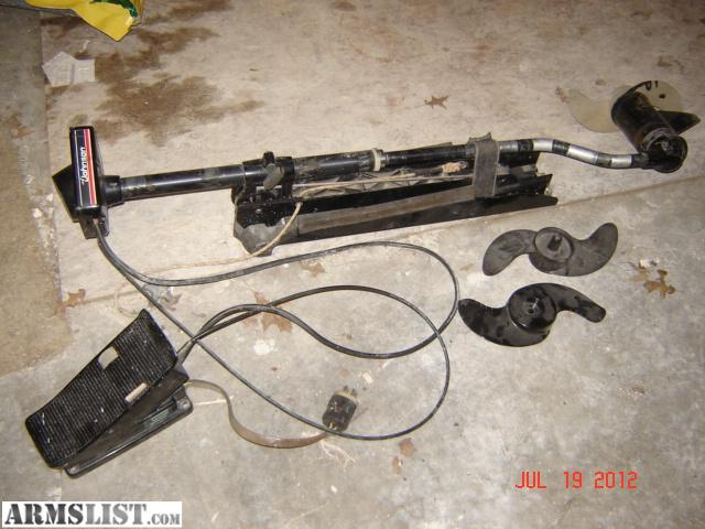 Armslist For Sale Johnson 12 24vdc Foot Controlled